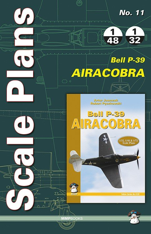 Scale Plans No. 11 Bell P-39 Airacobra