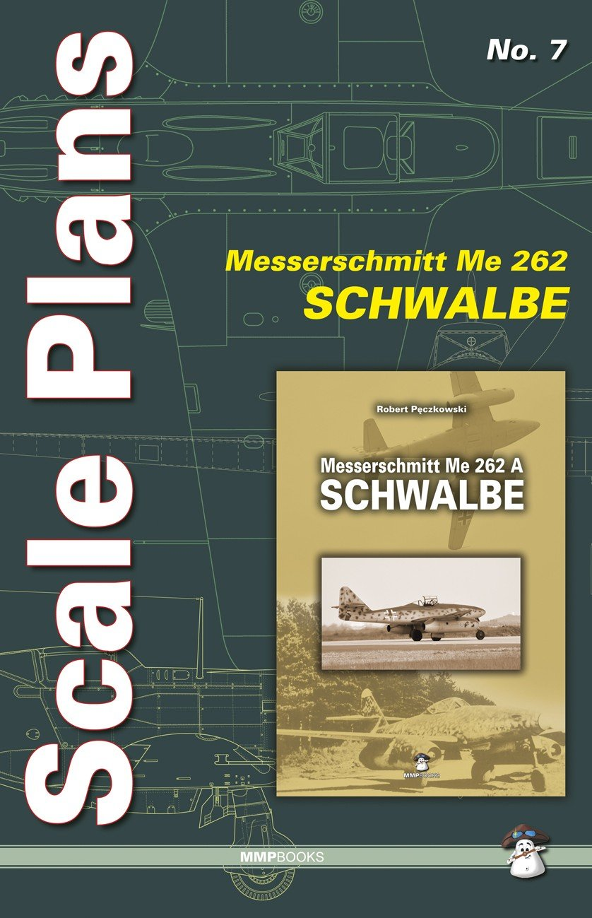 Scale Plans No. 7 Me 262 A Schwalbe
