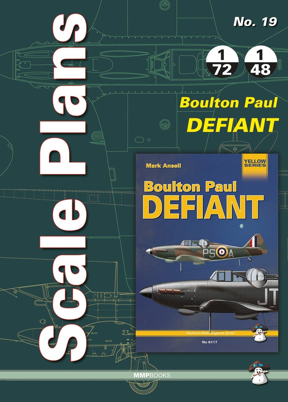 Scale Plans No. 19 Boulton Paul Defiant