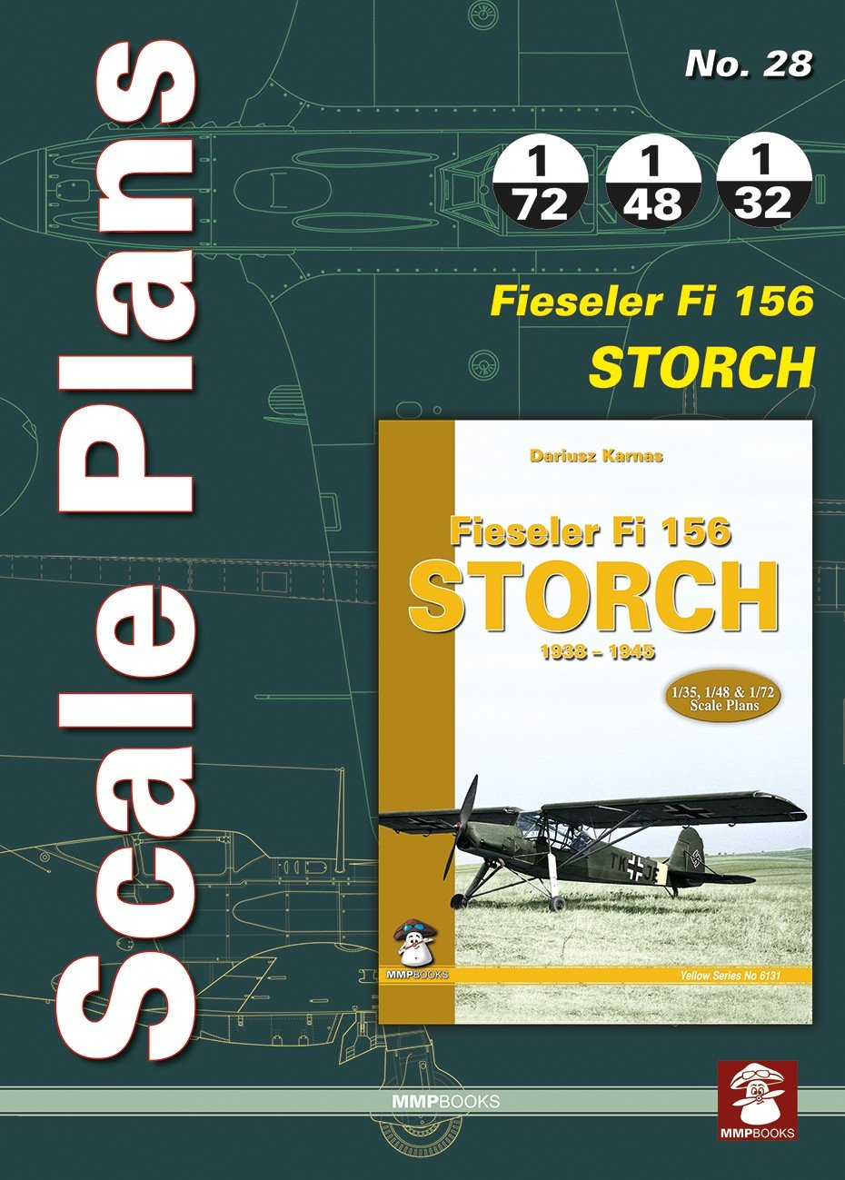 Scale Plans No. 28 Fieseler Fi 156 Storch
