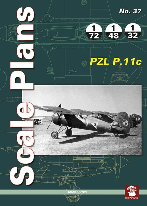 Scale Plans No. 37 PZL P.11c