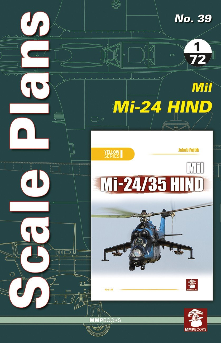 Scale Plans No. 39 Mil Mi-24 Hind