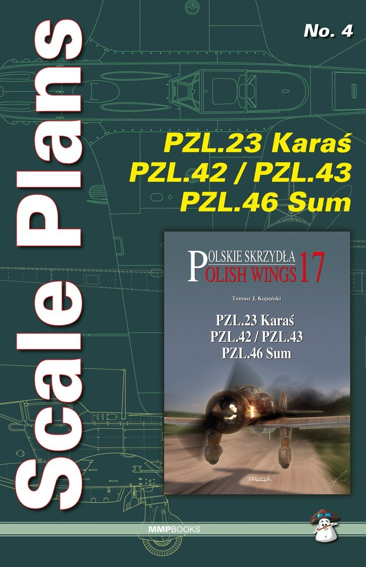 Scale Plans No. 4 PZL.23 Karaś