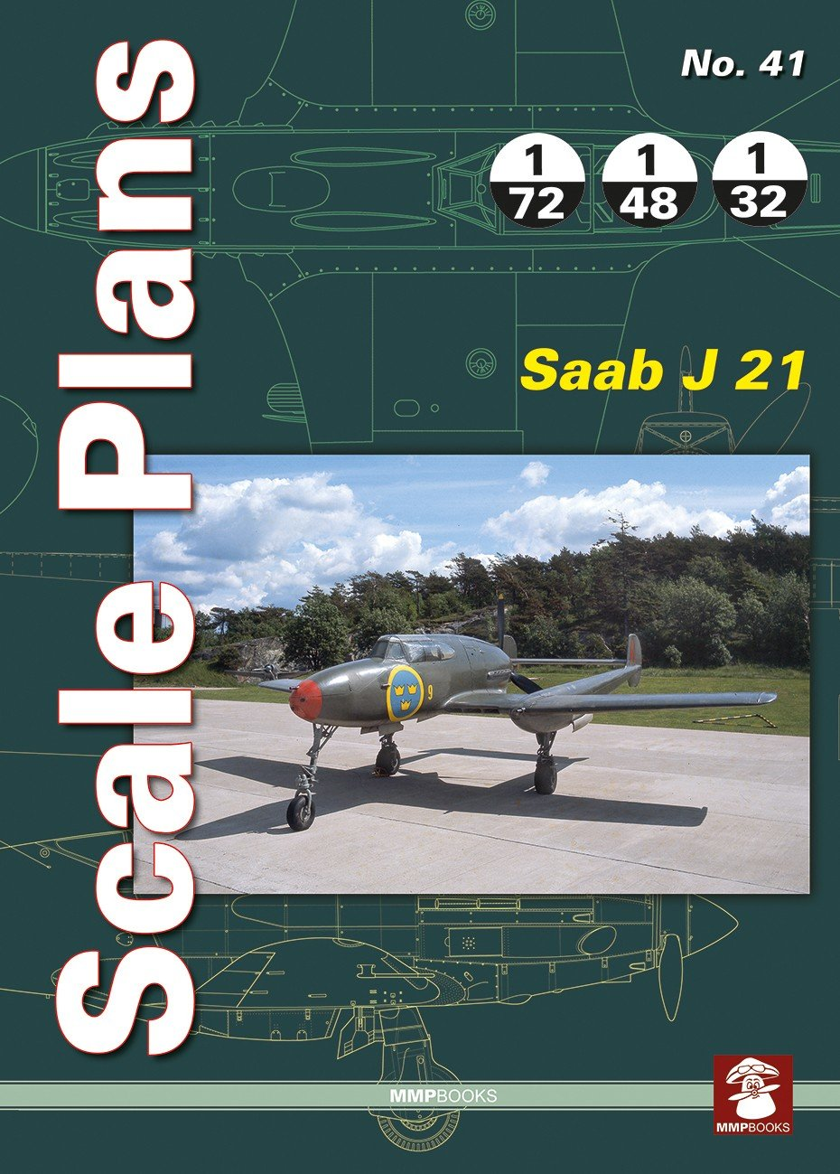 Scale Plans No. 41 Saab J 21