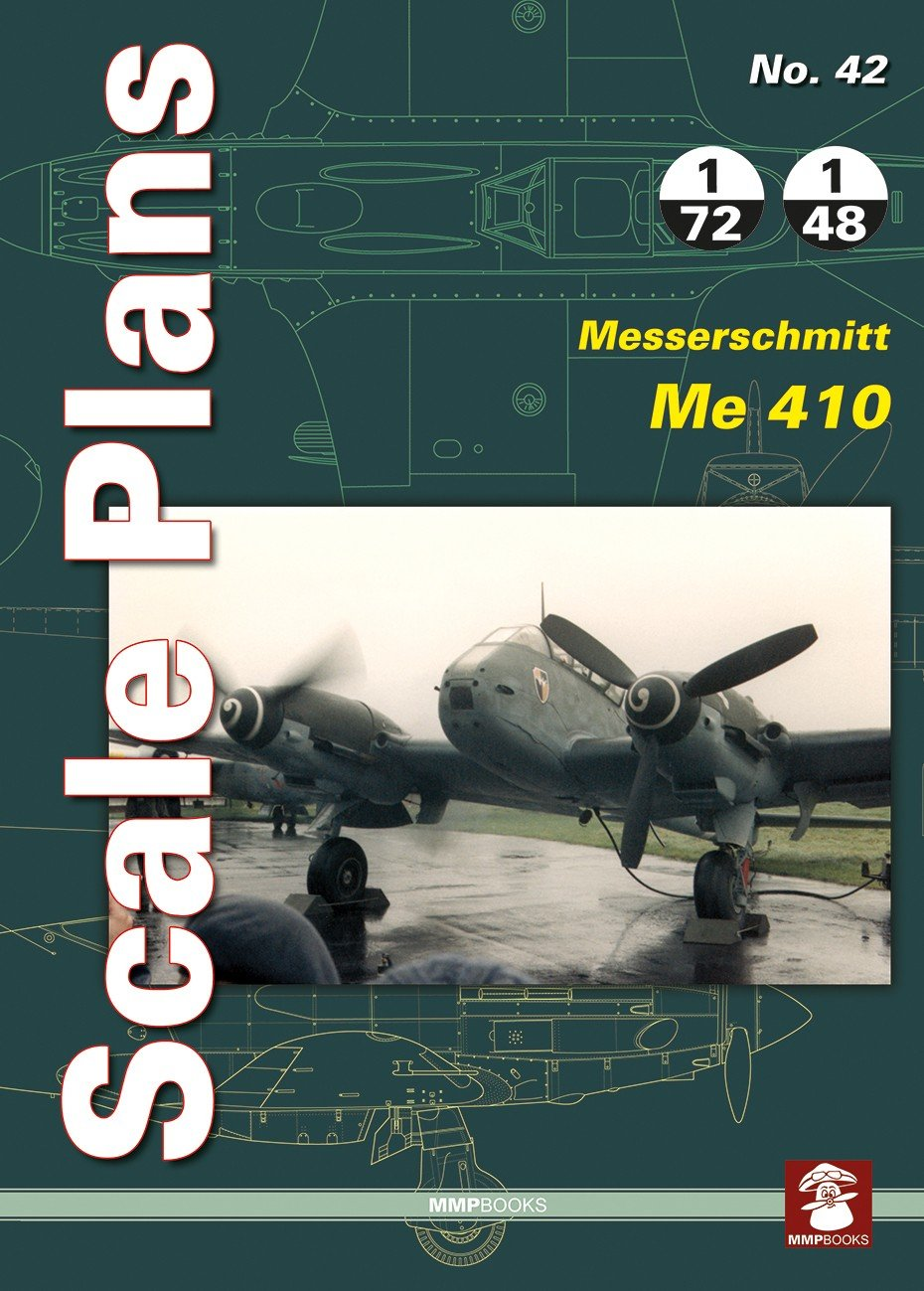Scale Plans No. 42 Messerschmitt Me 410