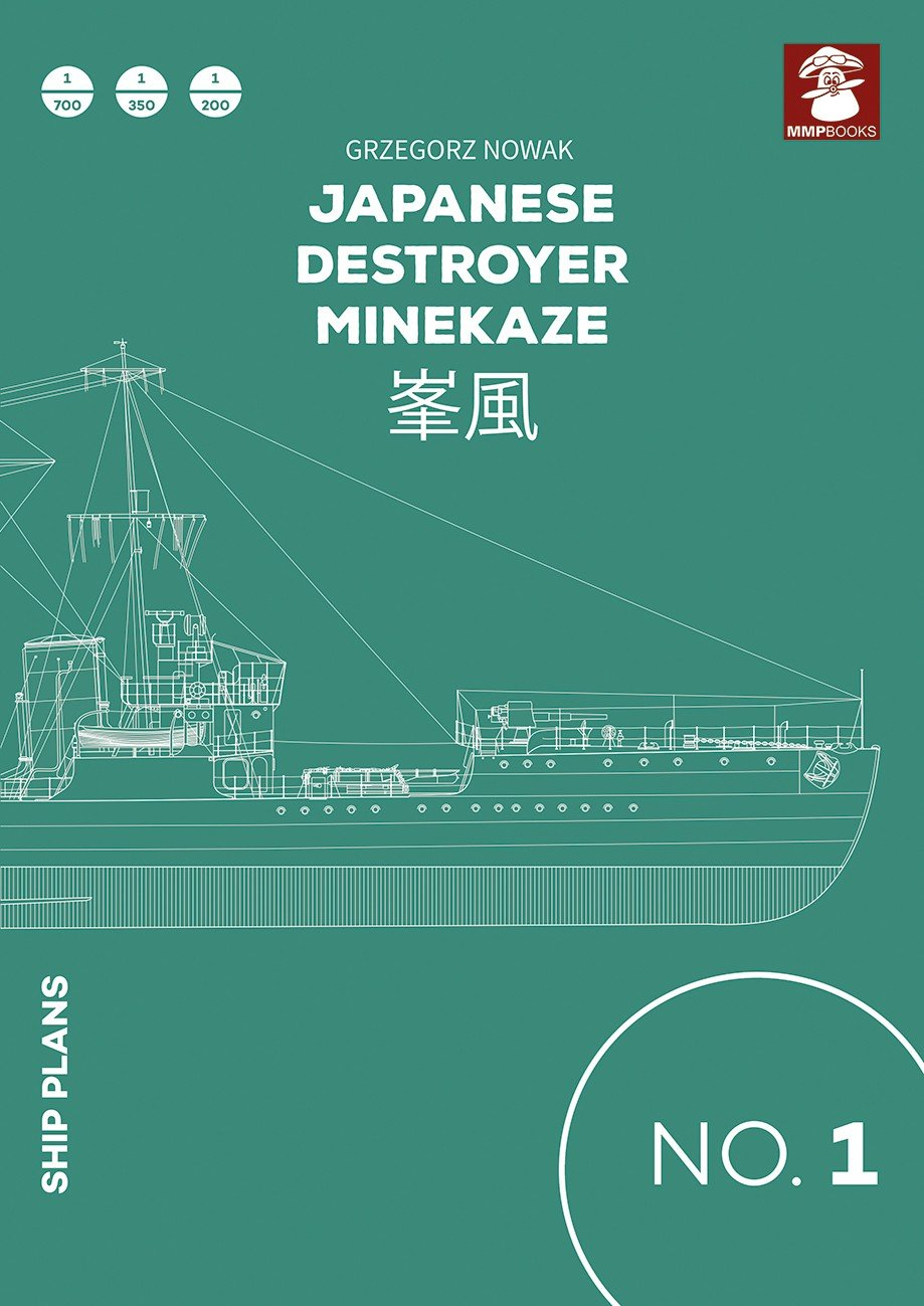 Ship Plans No. 01 Japanese Destroyer Minekaze