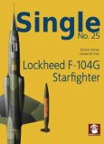 Single No. 25 Lockheed F-104G Starfighter