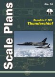 Scale Plans No. 66. Republic F-105 Thunderchief 1/72 Scale
