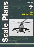Scale Plans No. 67 Mil Mi-24D/V in 1/48 scale