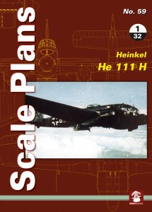 Scale Plans No. 59: Heinkel He 111 H 1/32