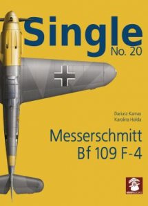 Single No. 20 Messerschmitt Bf 109F-4